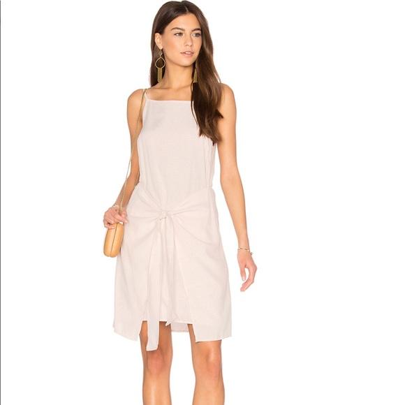 638b5d2ed19 Blush Tie Front Sun Dress
